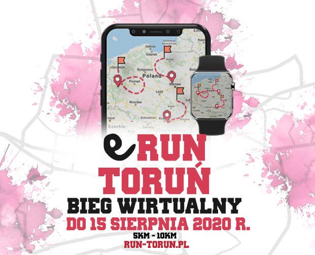 e Run Toruń - bieg wirtualny do 15 sierpnia 2020r.